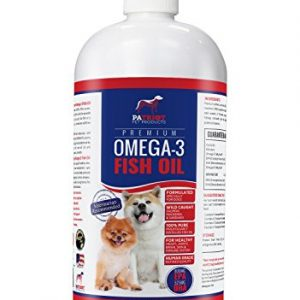 -Omega-3-Fish-Oil-For-Dogs-32Oz--Refined-Human-Grade--Improves-Coat-Joint-and-Heart--From-Wild-Caught-SalmonIcelandic-Fish--Superior-DHA-EPA-Levels-Better-Than-Alaskan-Salmon-Oil--Low-Odor-0