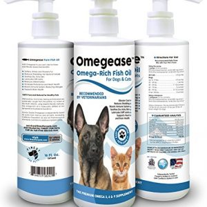 100-Pure-Omega-3-6-9-Fish-Oil-for-Dogs-and-Cats-Best-Supplement-For-Skin-Coat-Joint-Heart-Health-Boosts-Immunity-Liquid-From-Wild-Caught-Fish-Better-Source-of-DHA-EPA-Than-Alaskan-Salmon-Oil-Results-i-0
