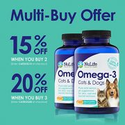 100-Pure-Omega-3-for-Dogs-and-Cats-Wild-Alaskan-Salmon-Oil-All-Natural-Fish-Oil-Supplements-for-Pets-For-Healthy-Skin-and-Shiny-Coat-No-Fishy-Smells-500mg-120-Easy-to-Swallow-Capsules-0-3