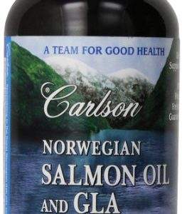 Carlson-Labs-Norwegian-Salmon-Oil-and-GLA-240-Softgels-0