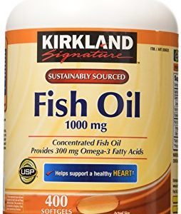 Kirkland-Signature-Fish-Oil-Concentrate-with-Omega-3-Fatty-Acids-400-Softgels-1000mg-0