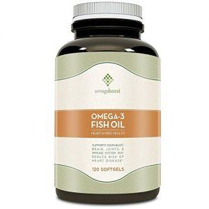 Omegaboost-Omega-3-Fish-Oil-120-Capsules-1250mg-Softgel-Lemon-Flavored-0