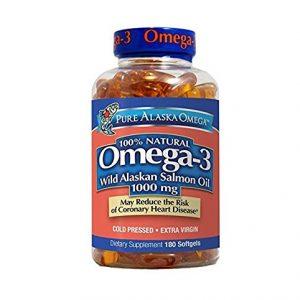 Pure-Alaska-Omega-3-Wild-Alaskan-Salmon-Oil-1000mg-Softgels-180-Count-0