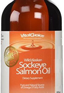 Vital-Choice-Liquid-Wild-Alaskan-Sockeye-Salmon-Oil-8-Ounce-0