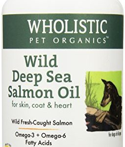 Wholistic-Pet-Organics-Wild-Deep-Sea-Salmon-Oil-100-Capsules-Supplement-0