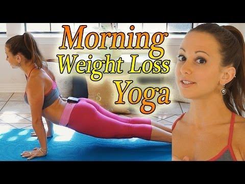 Morning Yoga For Weight Loss – 20 Minute Workout Fat Burning Yoga Meltdown Beginner & Intermediate