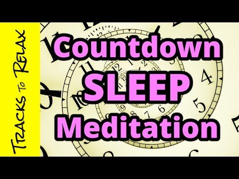 Bedtime sleep meditation, relax, fall asleep, stop insomnia