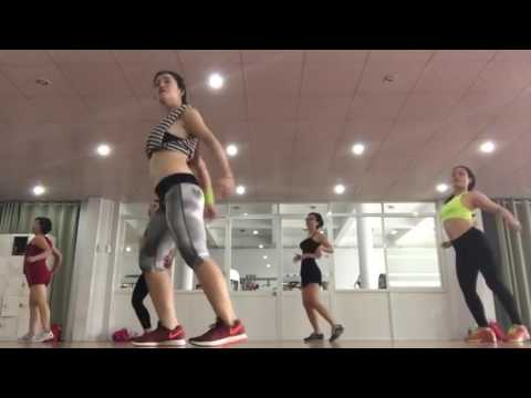 Aerobic Zumba Work Out beginners How to Weight Loss 27 Minutes ONly