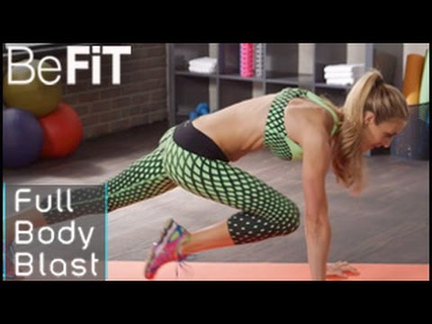 Full Body Blast Workout for Weight Loss: Danielle Pascente