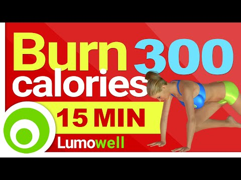 Burn 300 calories in 15 Minutes at Home – Fast Workout for Weight Loss