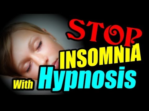 Hypnosis – End insomnia and fall asleep