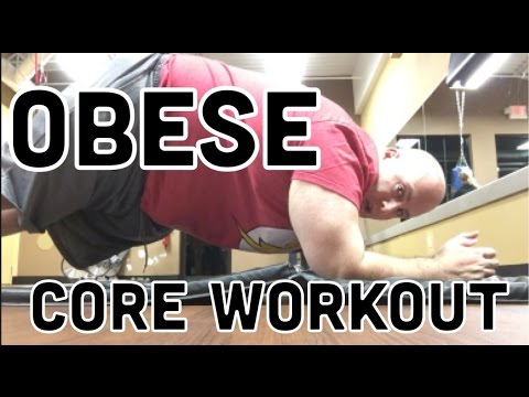 5 CORE EXERCISES FOR THE OBESE – Weight Loss Journey Day 410
