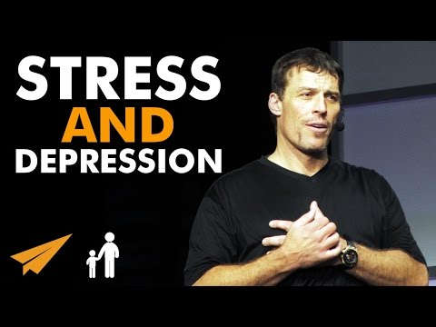 Tony Robbins: How to deal with STRESS and DEPRESSION – #MentorMeTony
