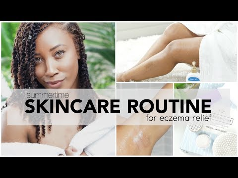 Skincare Routine for Eczema and How to Lighten Dark Underarms