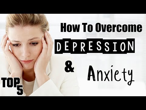 Top 5 Ways To Deal With Depression & Anxiety