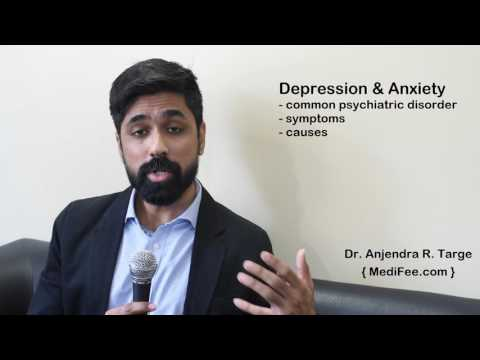 Depression & Anxiety – Symptoms, Causes and Treatment