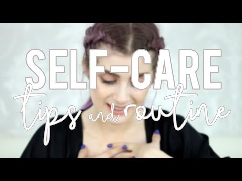 SELF-CARE TIPS & ROUTINE To Help Depression and Anxiety | Raquel Mendes