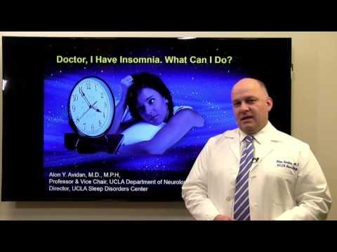 Doctor, I Have Insomnia. What Can I Do? – Alon Avidan, MD | UCLA Health Sleep Center