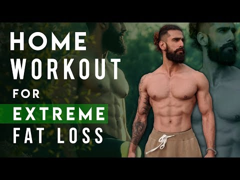 EXTREME FAT LOSS HOME WORKOUT (NO GYM) | Best Home Exercises for Weight Loss