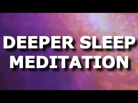 Long guided meditation Sleep talk down for insomnia and stress, voice only fall asleep fast hypnosis