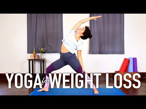 Yoga For Weight Loss – 30 Minute Fat Burning Beginners Workout!