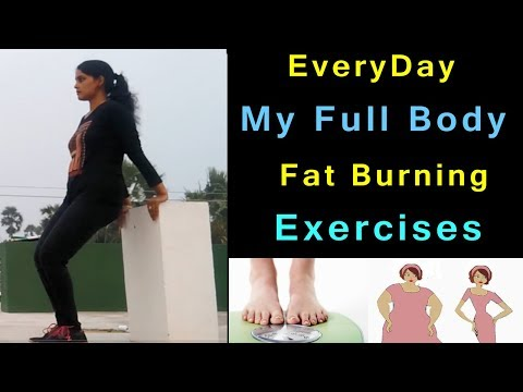 Everyday 1 Hour Full Body Workout at Home for Weight loss and Fitness|| Weight loss Exercises Telugu