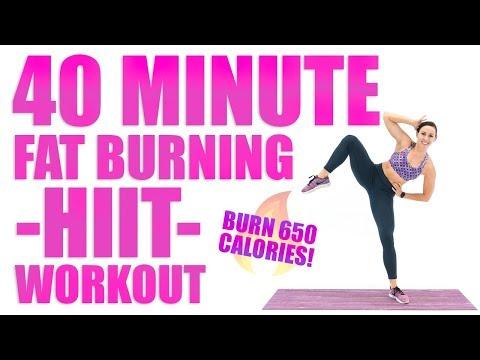 40 Minute Fat Burning HIIT Workout 🔥Burn 650 Calories! 🔥
