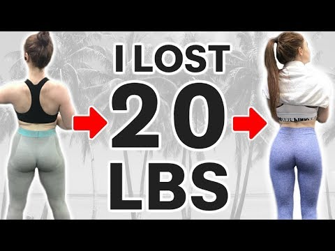 HOW I LOST 20 LBS OF STUBBORN FAT | What REALLY Worked for Calories, Cardio, and Workouts | #2