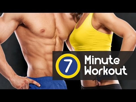 7 Minute Workout, a daily training to lose weight fast burn fat and tone your full body