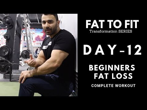 Full Body FAT LOSS Workout! Day-12 (Hindi / Punjabi)