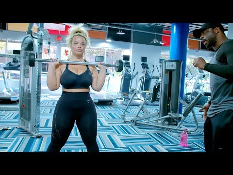 FAT GIRL WORKOUT ROUTINE FOR WEIGHT LOSS!