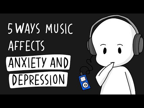 5 Ways Music Affects Anxiety and Depression