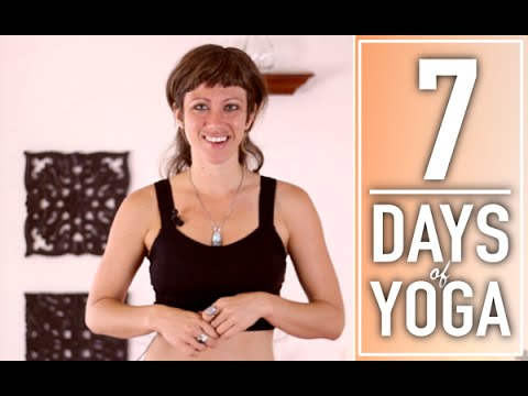 Yoga For Weight Loss – 30 Minute Fat Burning, Total Body Workout. 1 of 7