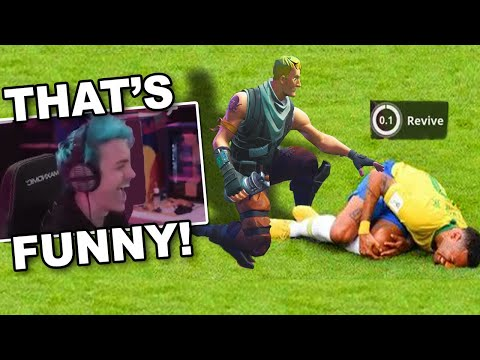 NINJA REACTS TO ''Fortnite Memes that cured my Anxiety and Depression''