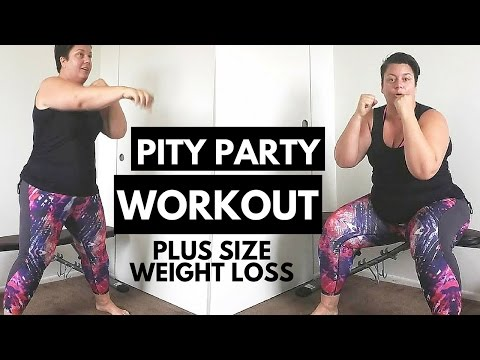 PITY PARTY – Plus Size Workout frustration – weight loss