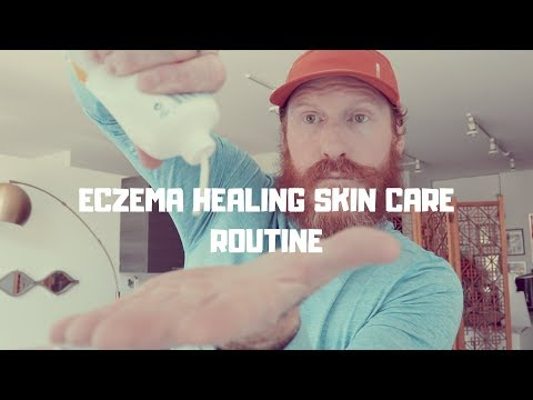 The SKIN CARE ROUTINE that helped me CURE ECZEMA (step by step guide)
