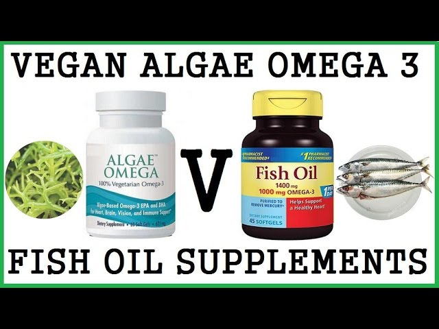 Which Are Better Vegan Algae Omega 3 Supplements Or Fish Oil?