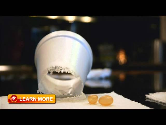 Fish Oil Styrofoam Cup Test