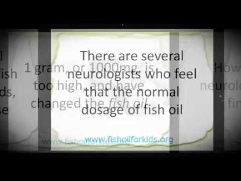 Fish Oil Dosage for Kids with ADHD