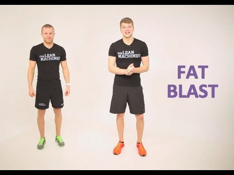 FAT BLAST: 10 MINUTE WORKOUT