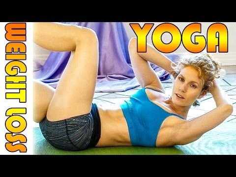 Beginners Yoga For Weight Loss & Flexibility # 3 Workout – Fat Burning 20 Minute Class
