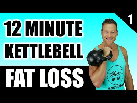 ULTIMATE KETTLEBELL WORKOUT FOR FAT LOSS | 12 Minute Fat Burning Kettlebell Workout Routine 1