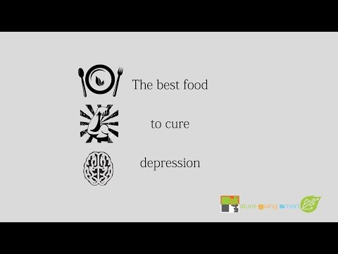 The best food to treat depression & anxiety