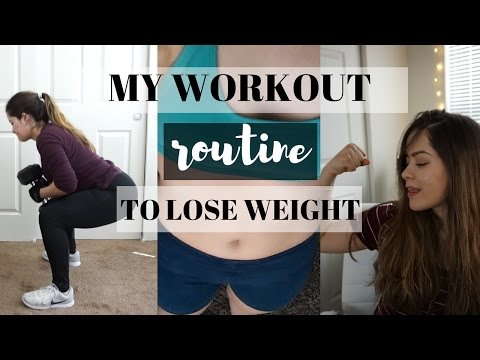 MY WORKOUT ROUTINE//WEIGHTLOSS + MUSCLE DEFINITION