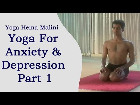 Yoga Anxiety & Depression For Part 1 – Hindi – Host Hema Malini Yoga