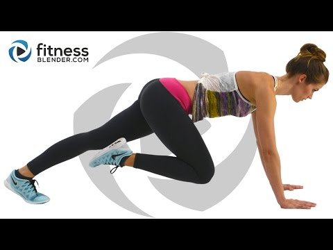 At Home Cardio Workout with No Equipment – Fat Burning Cardio Intervals