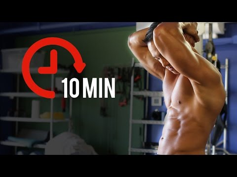 10 Minute at Home Fat Burning Circuit