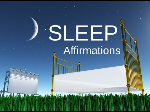 Can't Sleep? Hypnosis Affirmations: Programming  DEEP SLEEP for insomnia