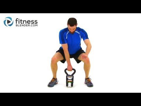 Advanced Kettlebell Workout – Calorie Blasting Weight Loss Kettlebell Routine