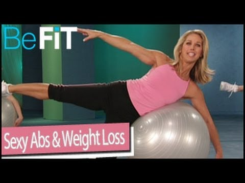 Sexy Abs & Weight Loss Stability Ball Workout: Denise Austin